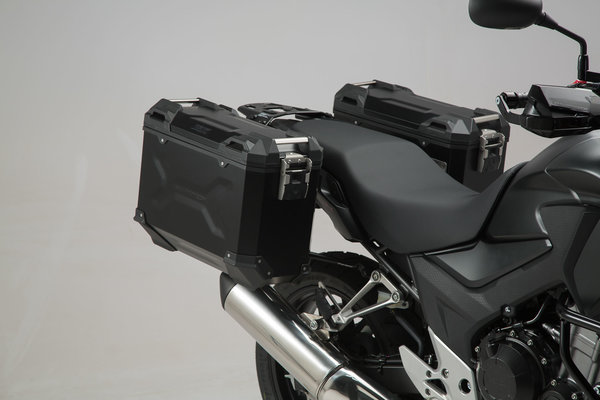 Pannier System TRAX ADV: side cases, side carrier, add-ons