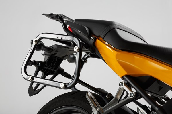 Supports valises EVO Noir. Honda CB650F (14-)/ CBR650F (13-).