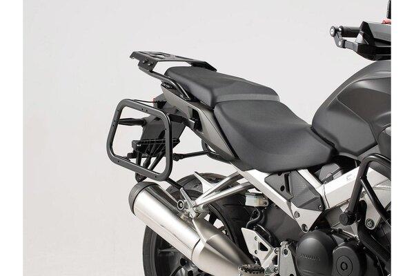 TRAX ION aluminium case system Black. 37/37 l. Honda VFR800X Crossrunner (15-).