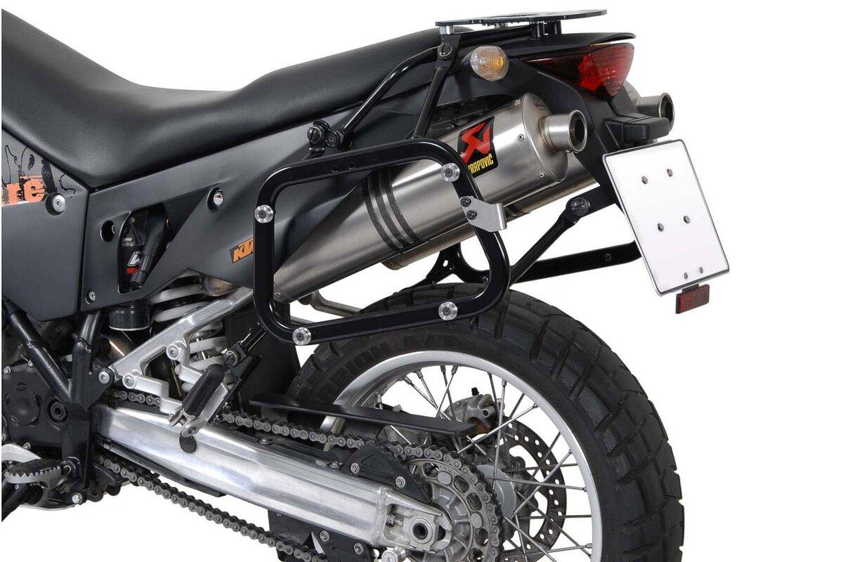 QUICK-LOCK Funktion Schwarz f/ür F/ür BMW //KTM //Ducati-Modelle SW-MOTECH EVO Tankring