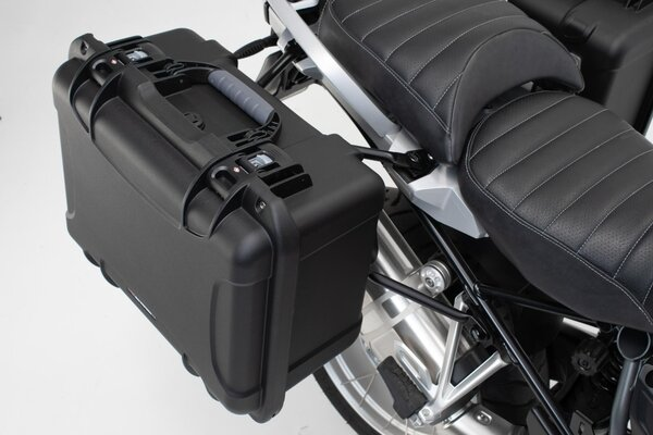 Sistema de maletas laterales NANUK Negro. KTM LC8 950/990 Adventure.
