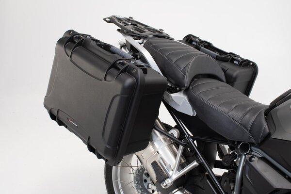 Sistema de maletas laterales NANUK Negro. KTM 990 SM / SM-T / SM-R / 950 SM.