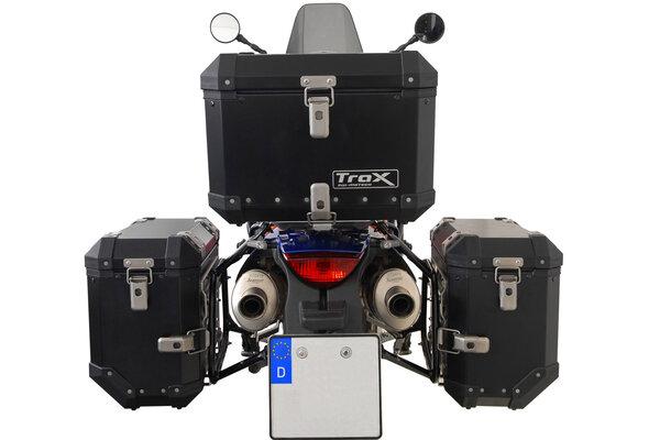 TRAX ION Alukoffer-System Schwarz. 37/37 l KTM 990 SM / SM-T / SM-R / 950 SM