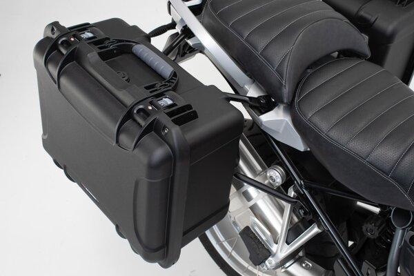 Sistema valigie laterali NANUK Nero. Suzuki DL 1000 V-Strom /Kawasaki KLV1000.