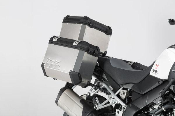 Supports valises EVO Noir. Suzuki V-Strom 1000 (14-).