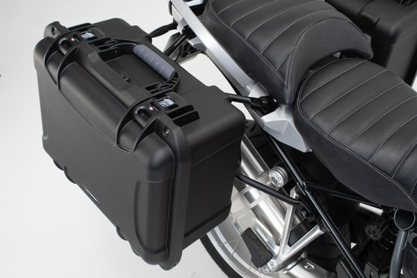 Sistema de maletas laterales NANUK Negro. Suzuki V-Strom 1000 (14-).