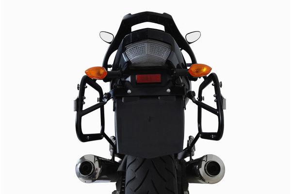 TRAX ION Alukoffer-System Schwarz. 45/45 l. Yamaha TDM 900 (01-09).