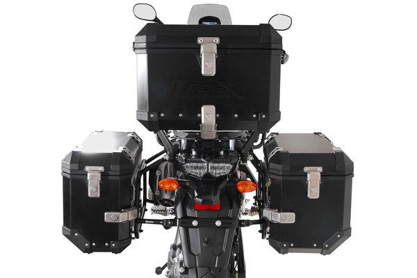 TRAX ION Alukoffer-System Schwarz. 37/45 l. Yamaha XT1200Z Super Ténéré.