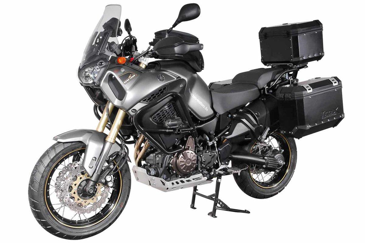 00-05 Lenkererhöhung H=27 mm Silbern .SW-MOTECH Yamaha FJR 1300