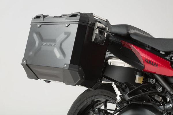 TRAX ADV Alukoffer-System Schwarz. 37/37 l. Yamaha MT-09 Tracer (14-18).