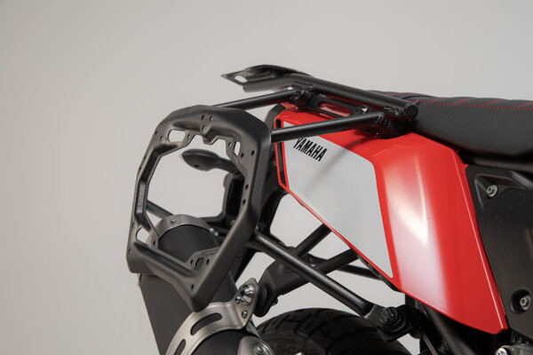Supports latéraux PRO Noir. Yamaha Ténéré 700 (19-).