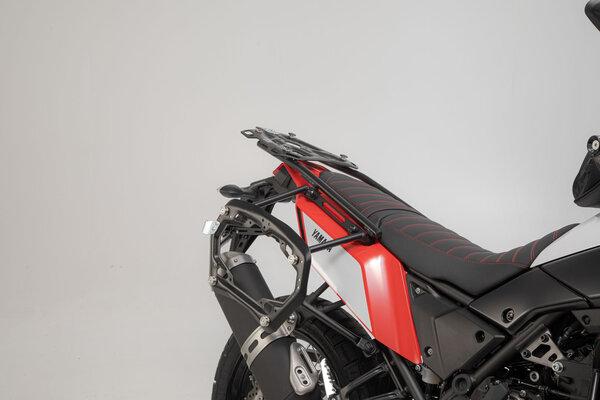 TRAX ADV Alukoffer-System Silbern. 37/37 l. Yamaha Ténéré 700 (19-).