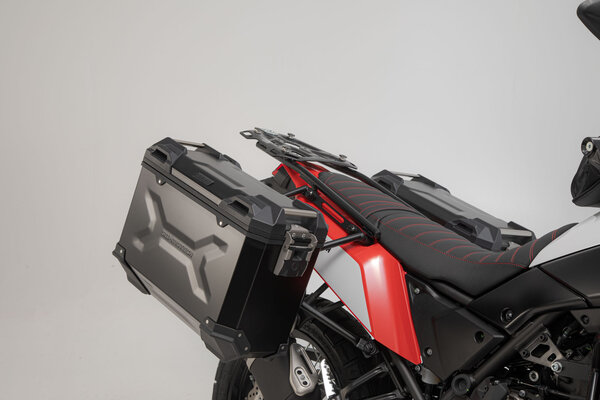 TRAX ADV Alukoffer-System Silbern. 45/45 l. Yamaha Ténéré 700 (19-).