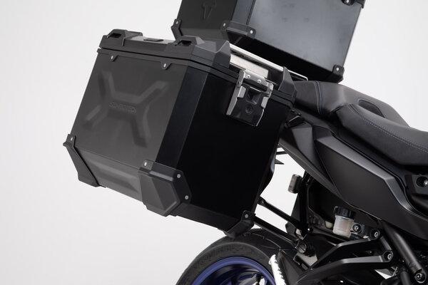 TRAX ADV aluminium case system Black. 45/45 l. MT-09 Tracer/Tracer 900GT (17-).