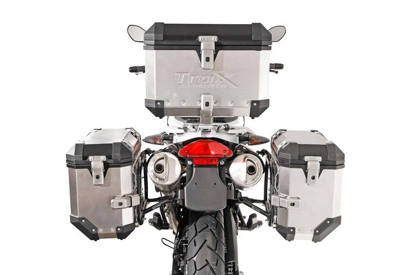 Kit valises TRAX ION Gris. 45/45 l. BMW F650GS (-07) / G650GS (11-).