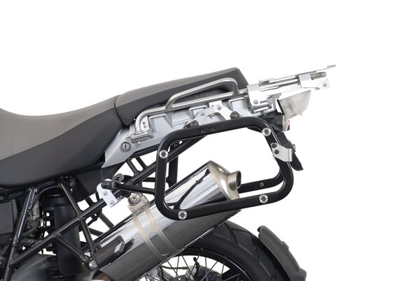Sistema valigie laterali NANUK Nero. BMW R 1200 GS (04-12) / Adventure.