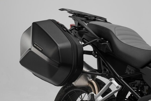 AERO ABS side case system 2x25 l. BMW F 800 R (09-) / F 800 GT (12-).