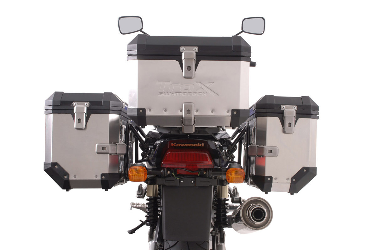 Valises Support Kawasaki Détachable Evo Pour ZrxAvec Fonction c4Rj53ALq