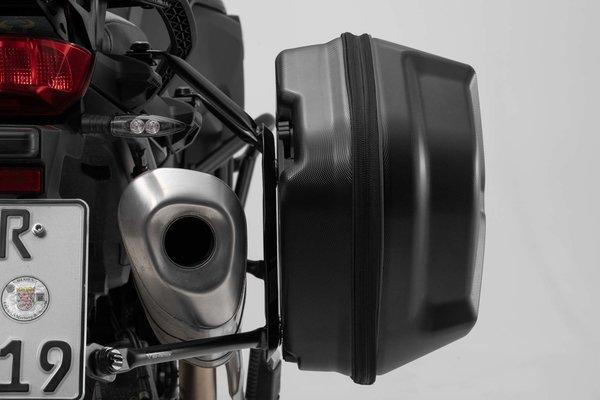 AERO ABS Seitenkoffer-System 2x25 l. Kawasaki ZRX 1100 / 1200 R / 1200 S.