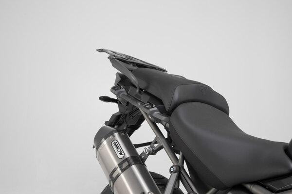 TRAX ADV aluminium case system Silver. 45/45 l. Triumph Tiger1200/Explor (11-).