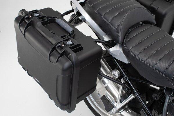 NANUK Seitenkoffer-System Schwarz. Moto Guzzi V85 TT (19-).