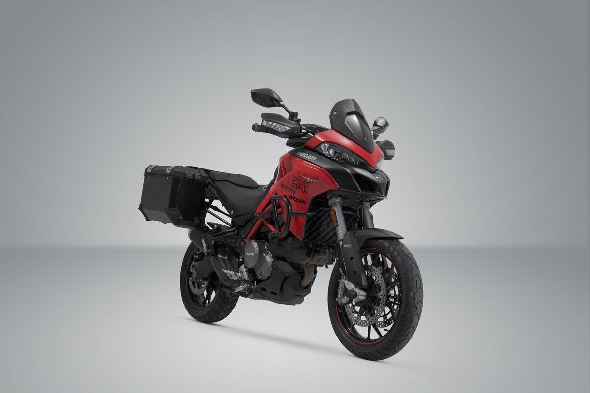 JIEWEI Areyourshop Motorcycle G.P.S//Smart Phone Navigation Support pour du.ca.TI Multistrada 950 1200 Enduro 2015-2017 Pi/èces de Moto 2016 Tout Neuf Color : 12mm