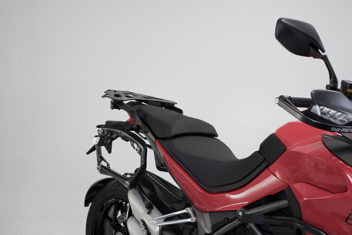 Motorrad Abdeckplane XXL f/ür Ducati Multistrada 1260// Pikes Peak schwarz
