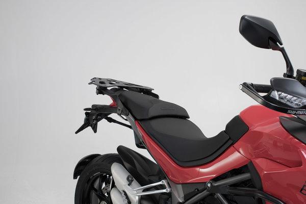 Kit valises TRAX ION Gris. 45/45 L. Ducati Multistrada 1260 (17-).