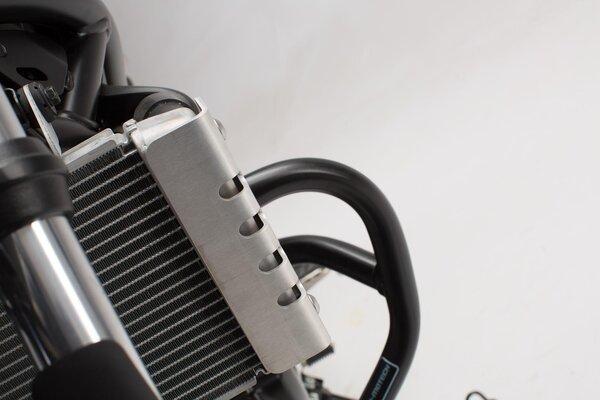 Kühlerschutz Silbern. Suzuki SV650 ABS (15-).