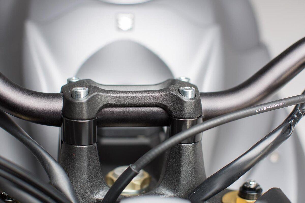 Lenkererhöhung Suzuki GSX-S 1000 F 15 H=20 mm schwarz