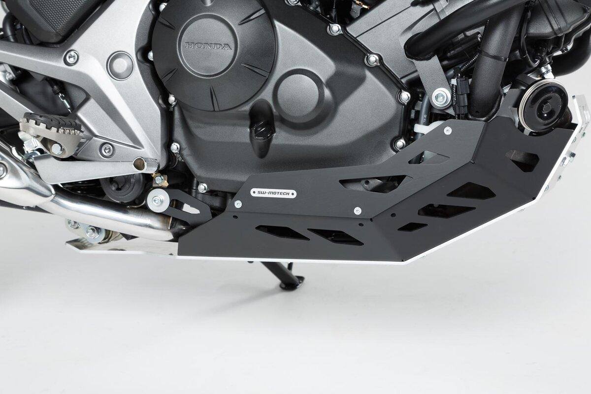 Color : Black 1 Piece Fit for HON.DA NC750X NC750 x NC750 NC 750 x 2018-2019 Skid Plate Motor Guard Chassis Schutzabdeckung Motorrad Zubeh/ör NC750x