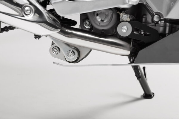 Motorschutz Schwarz/Silbern. Honda NC700 / NC750 mit DCT.
