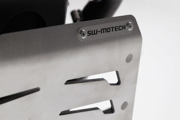 Motorschutz Schwarz/Silbern. Husqvarna TR 650 (12-15).