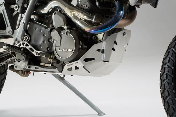 Motorschutz Silbern. KTM 620 Adventure (96-99).
