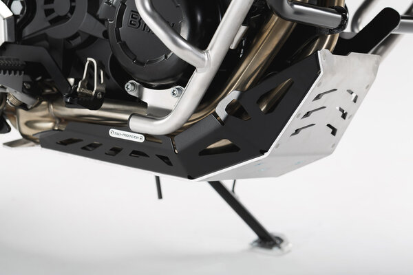 Engine guard Black/Silver. BMW GS-models / Husqvarna Nuda 900.