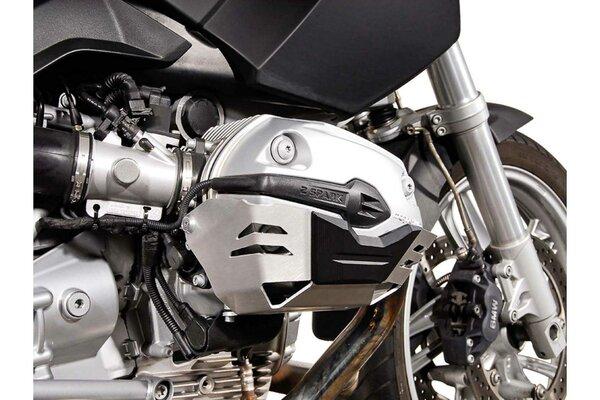 Zylinderschutz Silbern. BMW R1200 R/ ST/ GS/ Adventure.