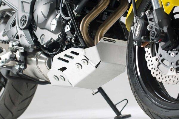 15- Sabot Moteur Sw-Motech Gris Kawasaki Versys 650