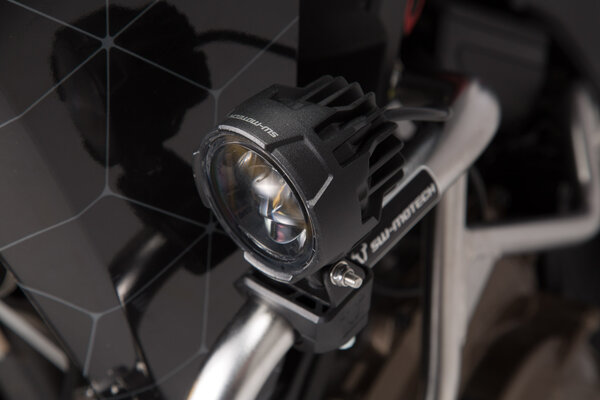 EVO high beam lights Light/switch/cable harness/mount. In pairs.