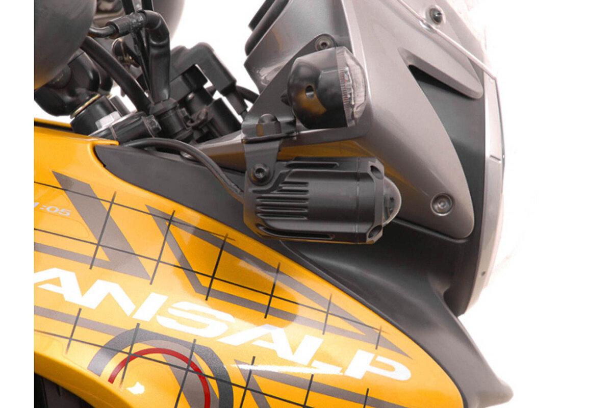 600 V LED Auxiliary Spot Lights S2 for Honda Transalp XL 700//650