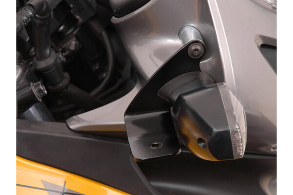 Light mount Black. Honda XL700V Transalp (07-12).
