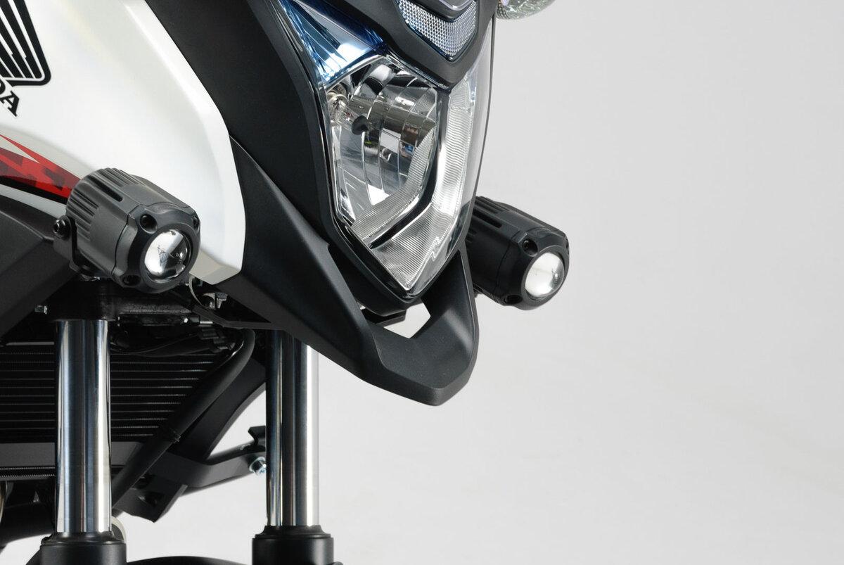 SW-Mo 72044896 Phares-Support Noir S 13 - Compatible Avec Honda cb500x