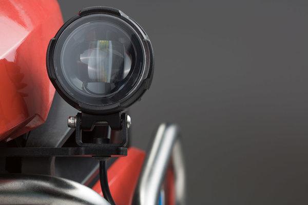EVO Nebelscheinwerfer-Kit Schwarz. Für Honda CRF1000L (15-) ohne Sturzbügel.