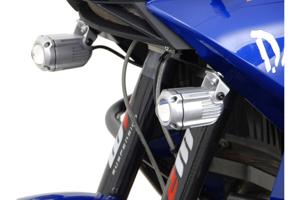 Soportes para luces Negro. KTM LC8 950 / 990 Adventure.