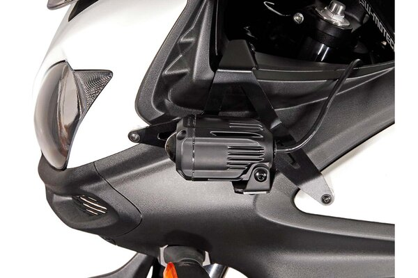 Scheinwerfer-Halter Schwarz. Suzuki DL650 V-Strom (11-16)/ XT (15-16).