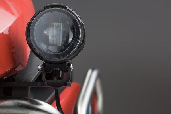 EVO Nebelscheinwerfer-Kit Schwarz. Suzuki DL650 V-Strom (11-16)/ XT (15-16).