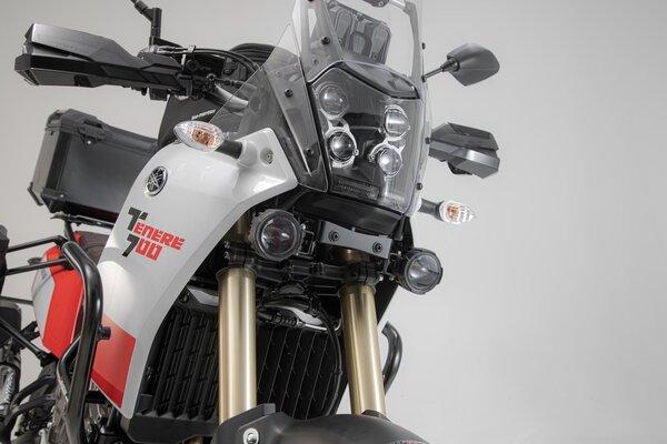 EVO Nebelscheinwerfer-Kit Schwarz. Yamaha Ténéré 700 (19-).