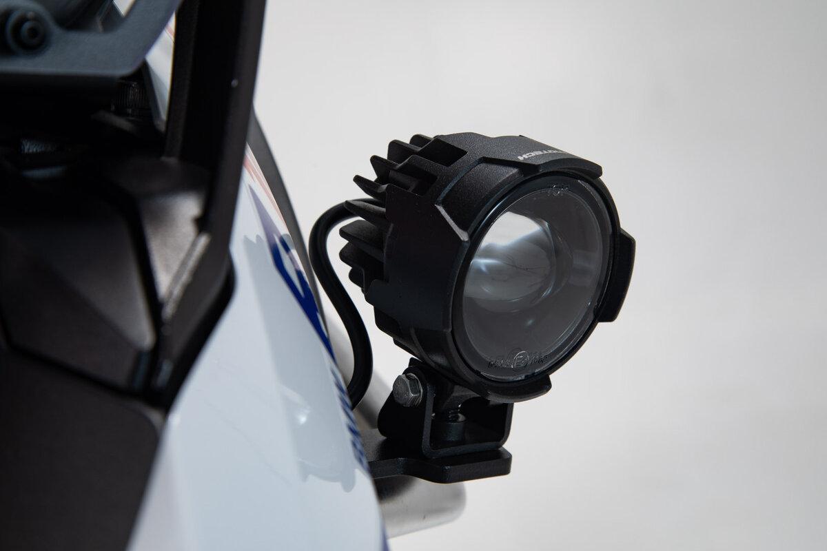 13- Sw-Motech EVO Nebelscheinwerfer-Kit Schwarz R1250 18 BMW R1200GS//Rallye