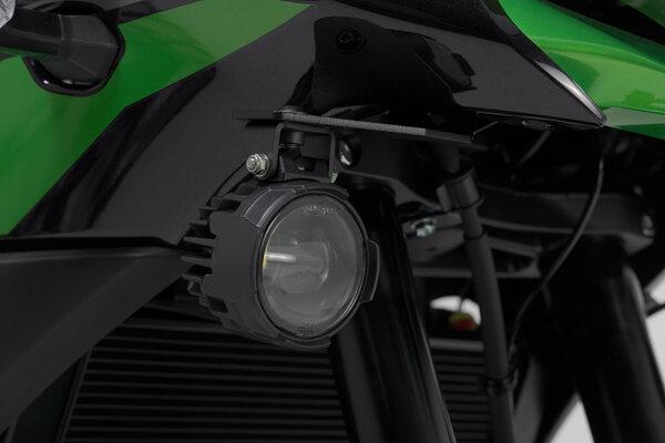 Scheinwerfer-Halter Schwarz. Kawasaki Versys 650 (15-).