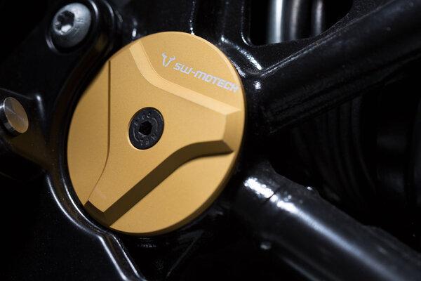 Rahmenkappen-Set Golden. BMW R nineT (14-), Pure/Racer/GS (16-).