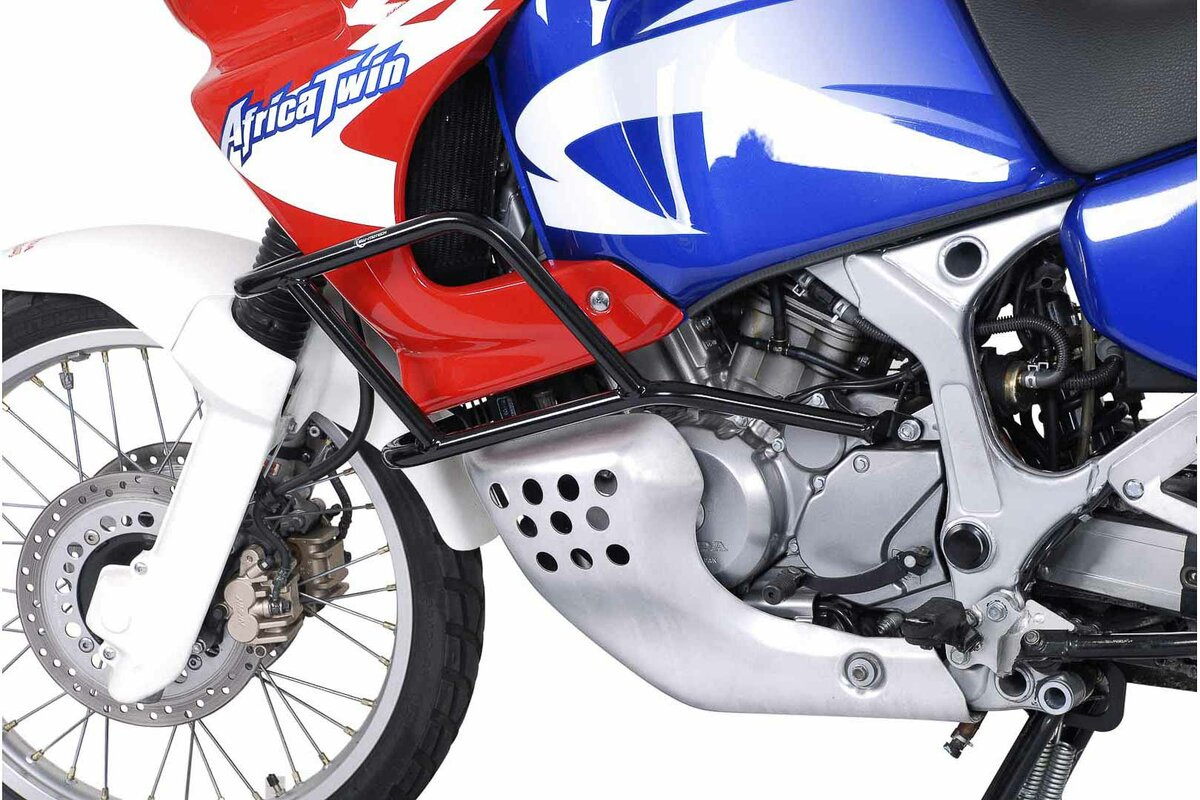 Reliable Crash Bar Black Honda Xrv750 Africa Twin 93 03 Sw Motech